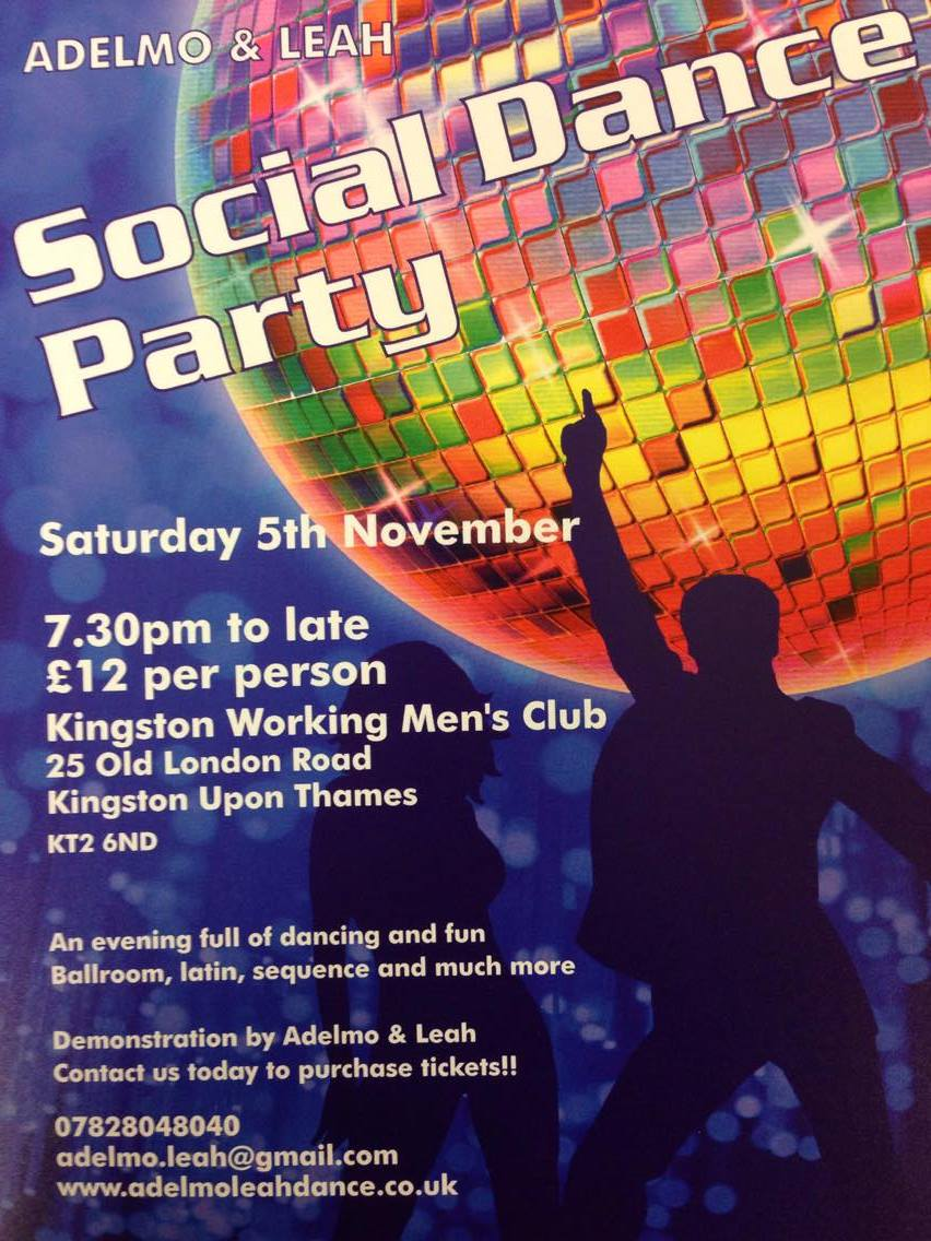 Kingston Upon Thames Social Dance Party